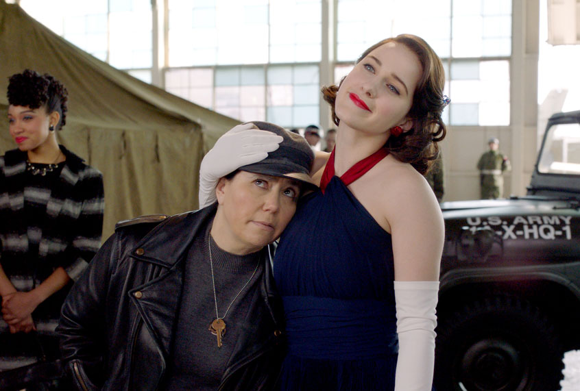 """""""Mrs. Maisel"""" is still marvelous in its anachronistic unreality"""