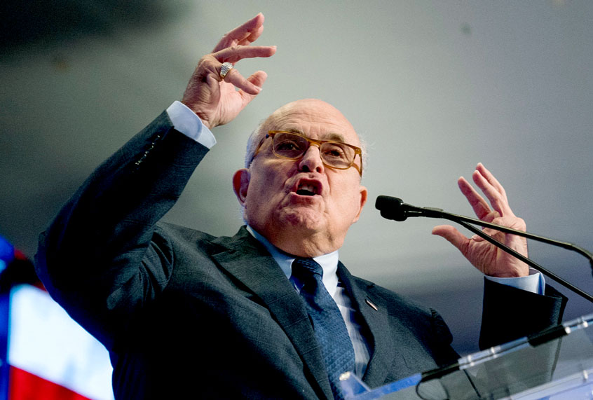 """Rudy Giuliani tries to explain why his administration profiled black New Yorkers: """"It wasn't racist"""""""