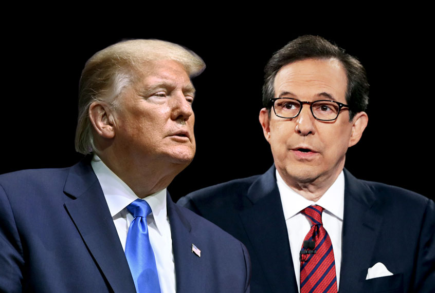 Chris Wallace shuts Trump's lie about Biden down with live fact-check during Fox News interview – Salon