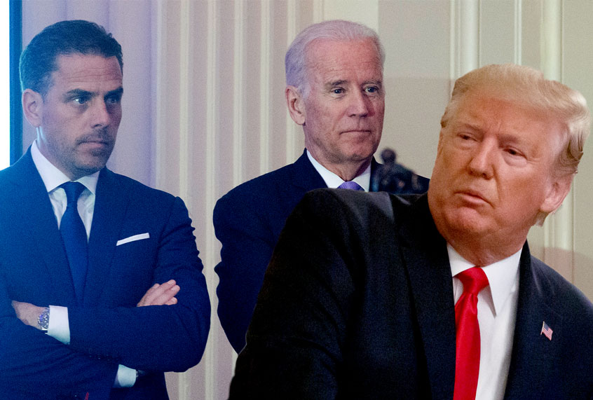 Treasury hands Hunter Biden records over to GOP after refusing to release Trump tax returns