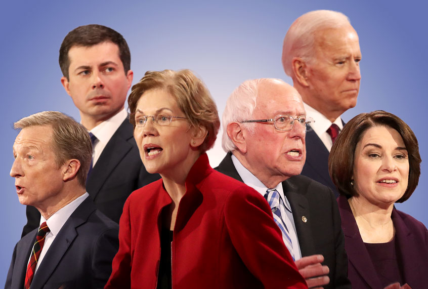 The Democratic debate stage is now all white. It doesn't have to be this way thumbnail