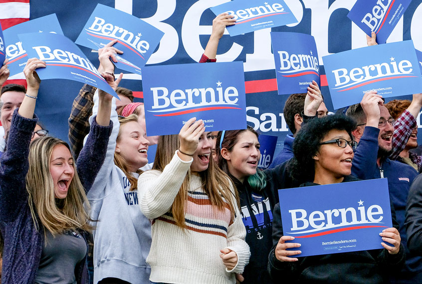 """The """"BernieBro"""" myth persists because pundits don't understand how the internet works"""