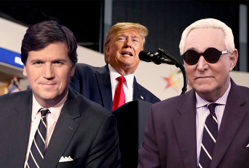 What Tucker Carlson's defense of Roger Stone tells Trump: Go ahead and cheat in 2020