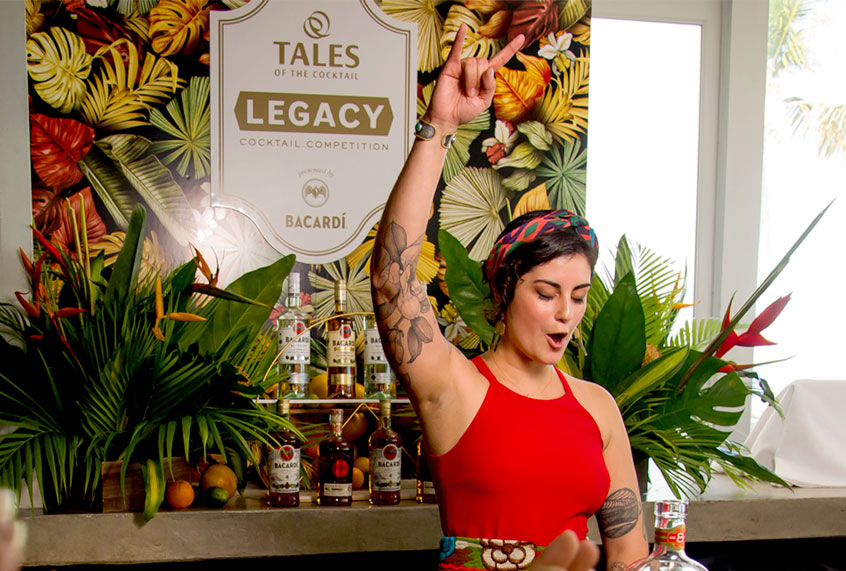 On the ground at the battle for the world's best new rum cocktail