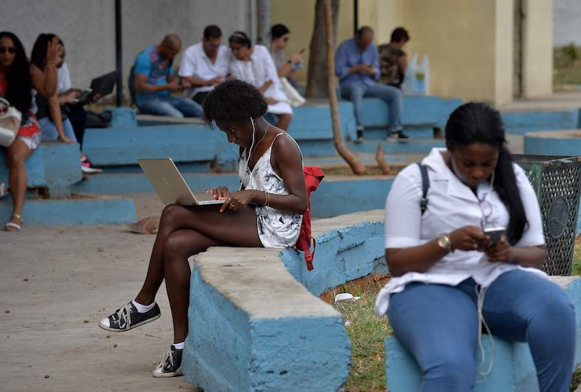 The internet is widely accessible in Cuba. Why is the U.S. insisting it isn't?
