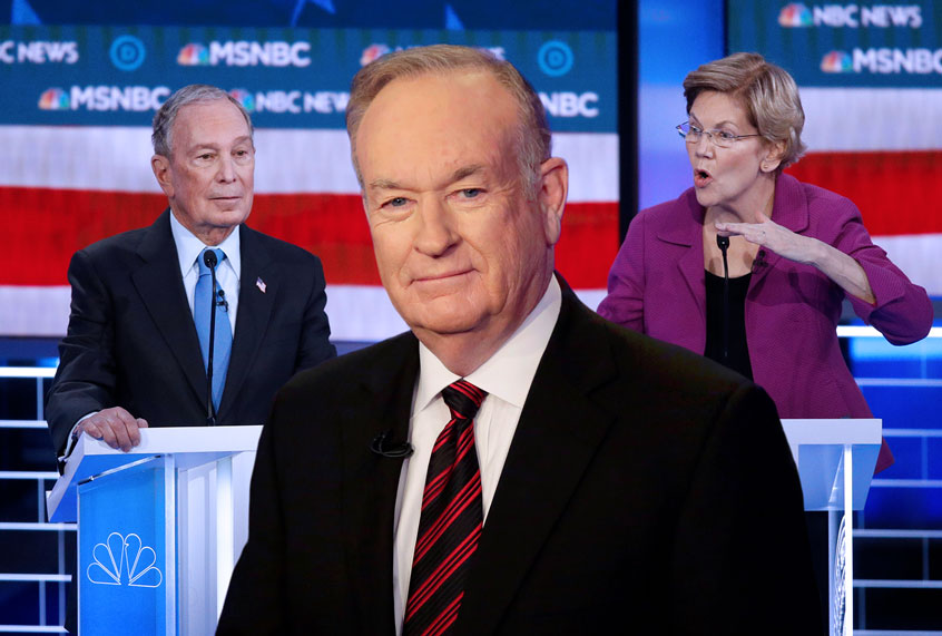 """O'Reilly forgets skeletons in his closet as he slams """"weak"""" Bloomberg over non-disclosure agreements"""