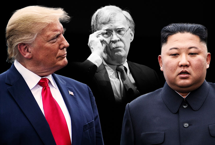 """John Bolton says President Trump """"wasted two years"""" trying to make a peace deal with North Korea"""