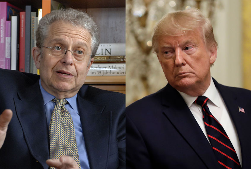 "Laurence Tribe: Trump campaign's lawsuit against New York Times ""designed to chill the free press"""