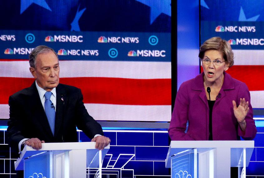 Everyone — especially Bernie Sanders — owes Elizabeth Warren for her Bloomberg TKO
