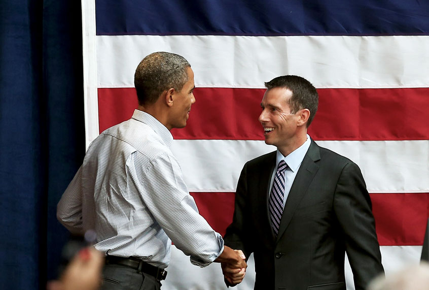 Political wizard David Plouffe: Trump's got time and money — that