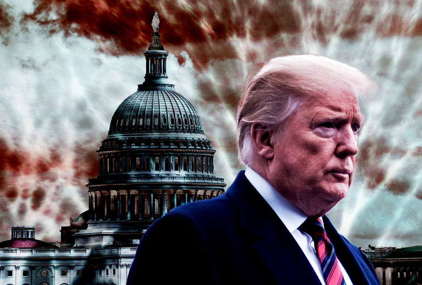 """How Trump's chaotic incompetence, and the """"deconstruction"""" of the """"deep state,"""" got us here"""