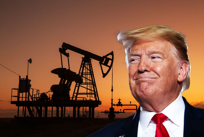 Will oil tycoon who donated $500,000 to Trump's re-election effort receive federal aid?