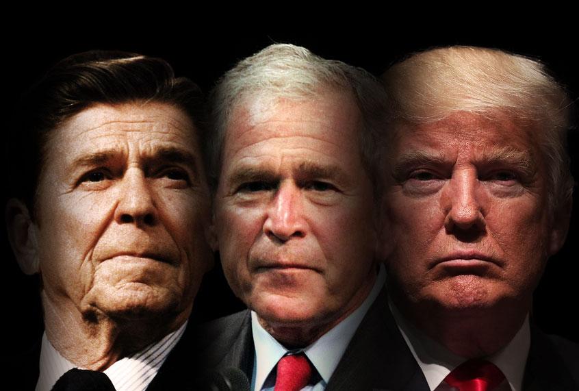 "3"" Re-Elect Reagan Bush In '84 Jugate Keep America Great"