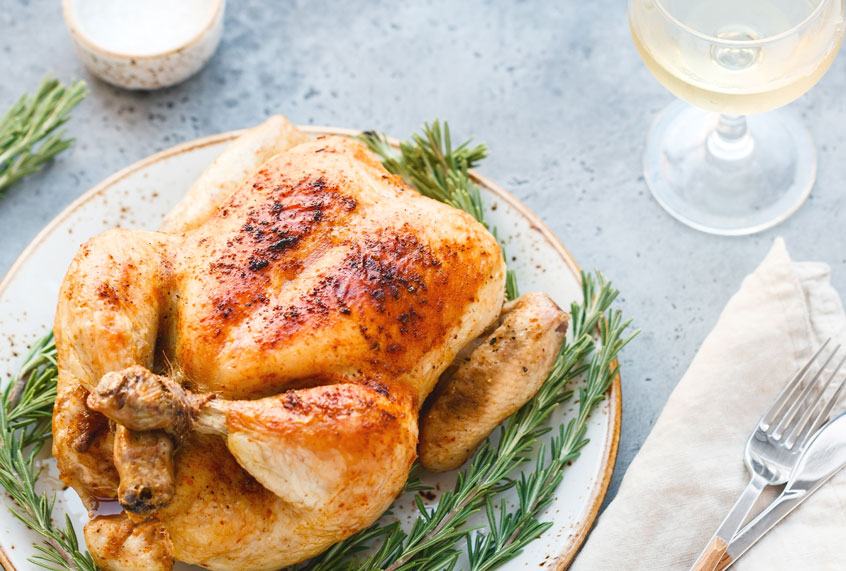 Few things taste as good a roast chicken. This is the secret to cooking a perfect bird at home.