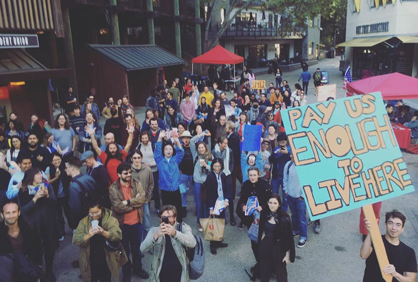 """""""Not shocking, but however unbelievable"""": UC Santa Cruz college students fired more than wildcat strike"""