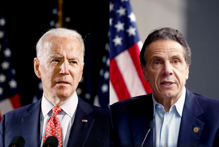 Andrew Cuomo's not your boyfriend — and Joe Biden's definitely not your dad