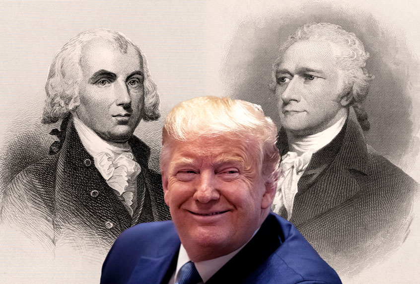 Reading the Federalist Papers under lockdown: Is Donald Trump dissolving our union?