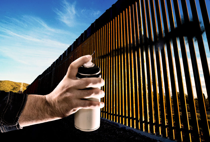 New engineering report finds privately built border wall will fail thumbnail