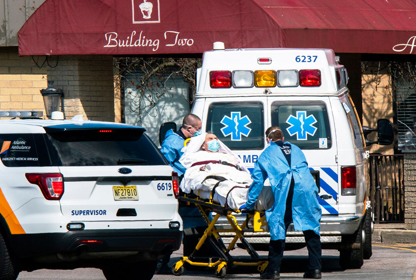 Up to 204,691 extra deaths in the U.S. so far in this pandemic year