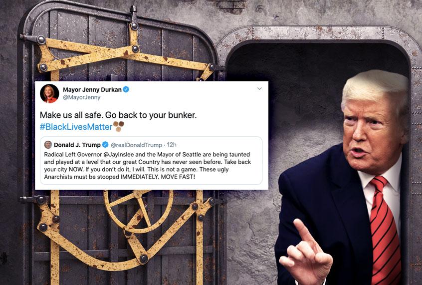 Donald Trump Bunker