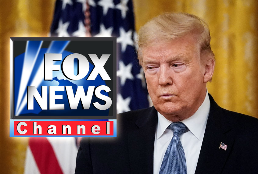 "Trump complains that Fox News is ""not watchable,"" urges viewers to switch to ""fair & balanced"" OANN"