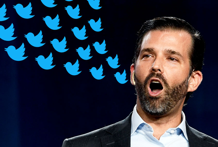 Twitter shuts down white nationalist group posing as Antifa after Donald Trump Jr. shares its tweet
