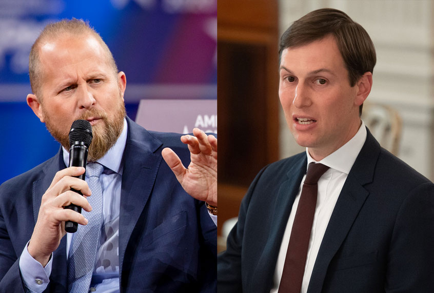 Jared Kushner and Brad Parscale are at