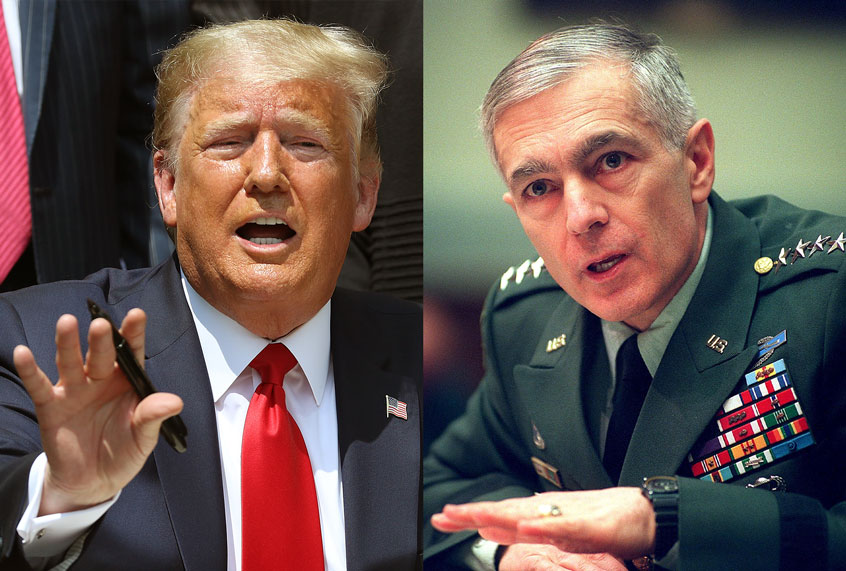 """Gen. Wesley Clark on Trump and the protests: """"We are seeing the turning of the tide"""""""