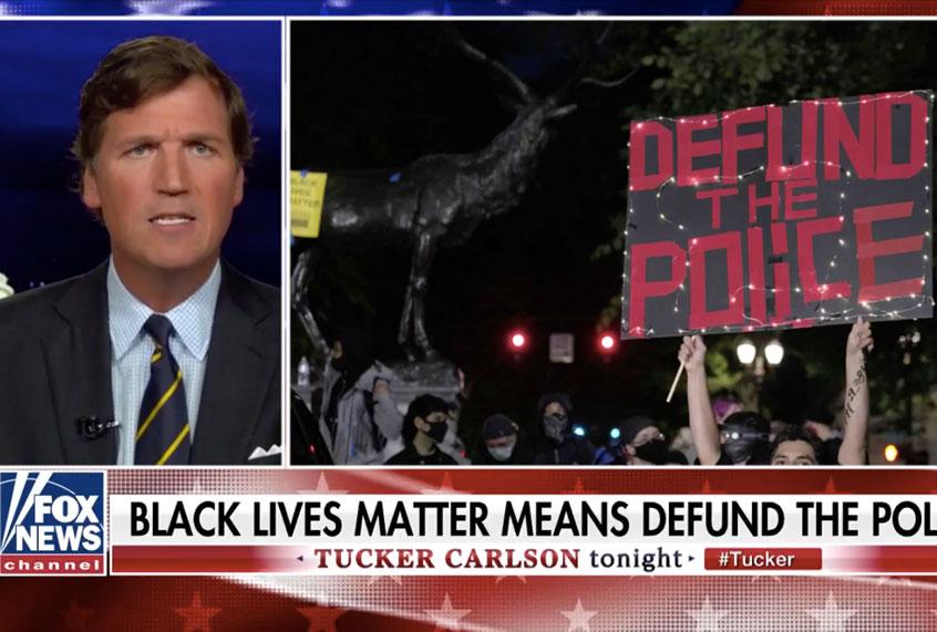"""Texas police fact-check Tucker Carlson's """"gross ..."""