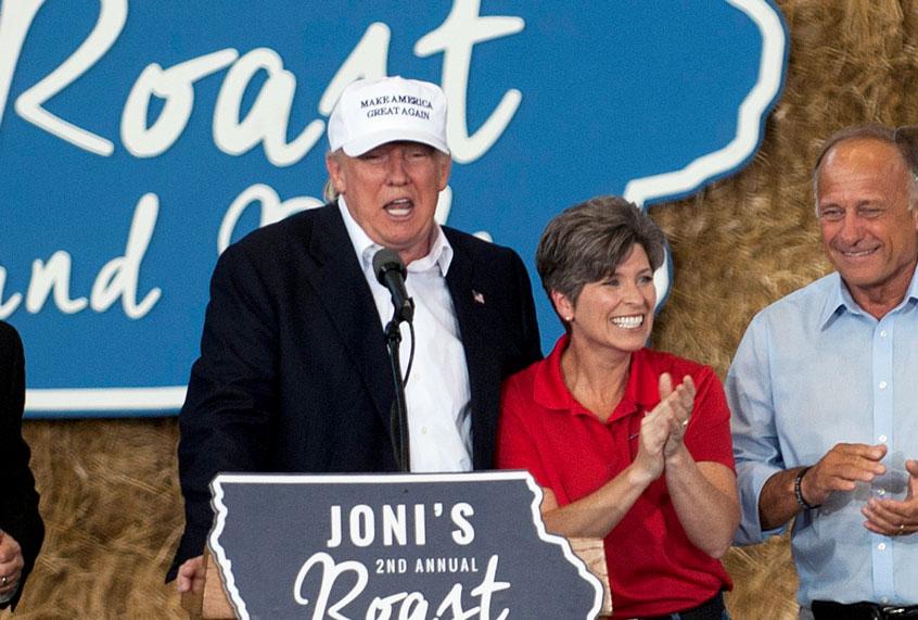 "Joni Ernst: Obama ""failed"" the response to Ebola, but Trump is ""stepping forward"" on coronavirus"