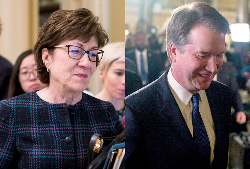 In the discontinuance, it couldn't be Susan Collins' vote to confirm Brett Kavanaugh that costs her the election thumbnail