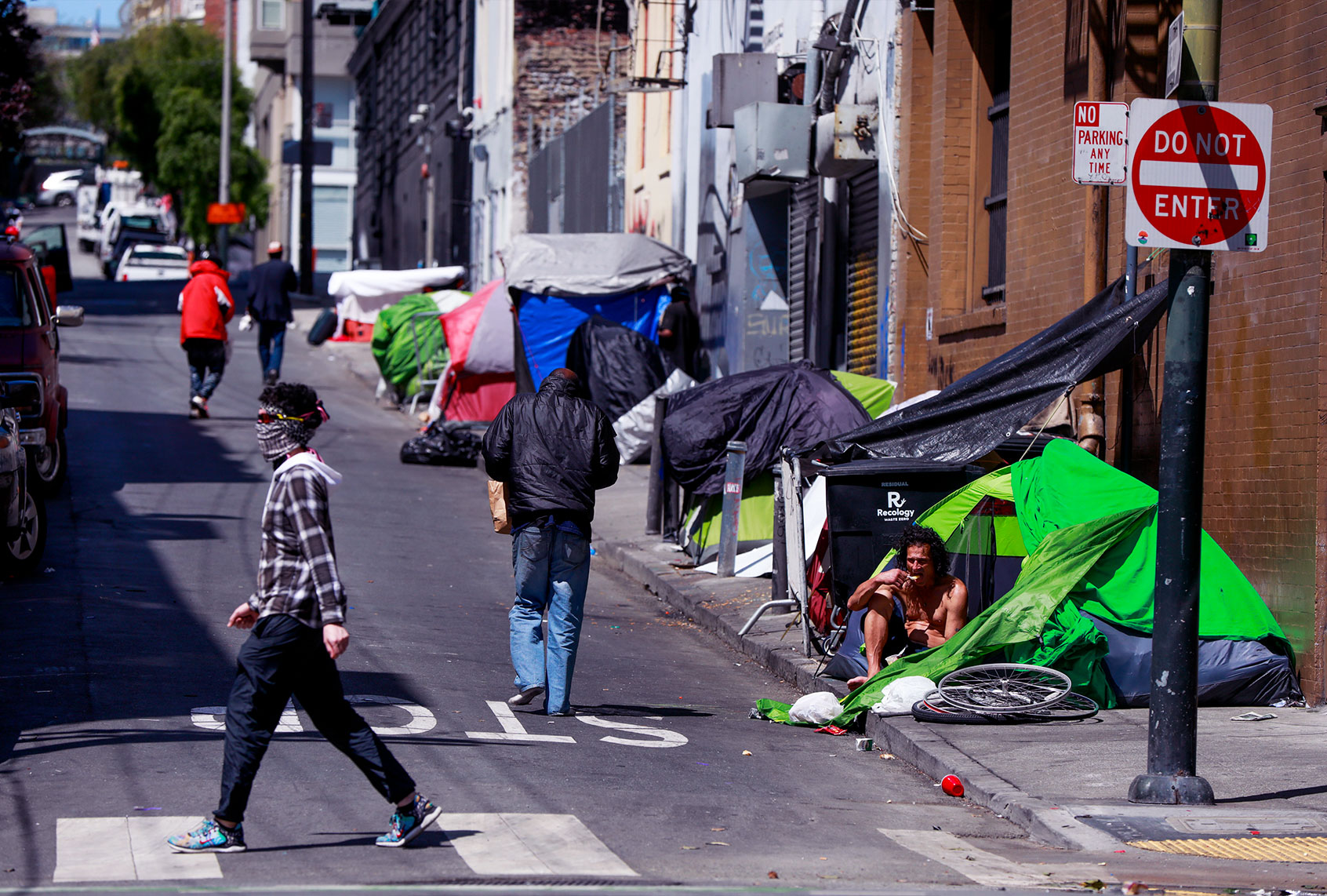 An RV park housing the homeless in San Francisco has become a runaway success story
