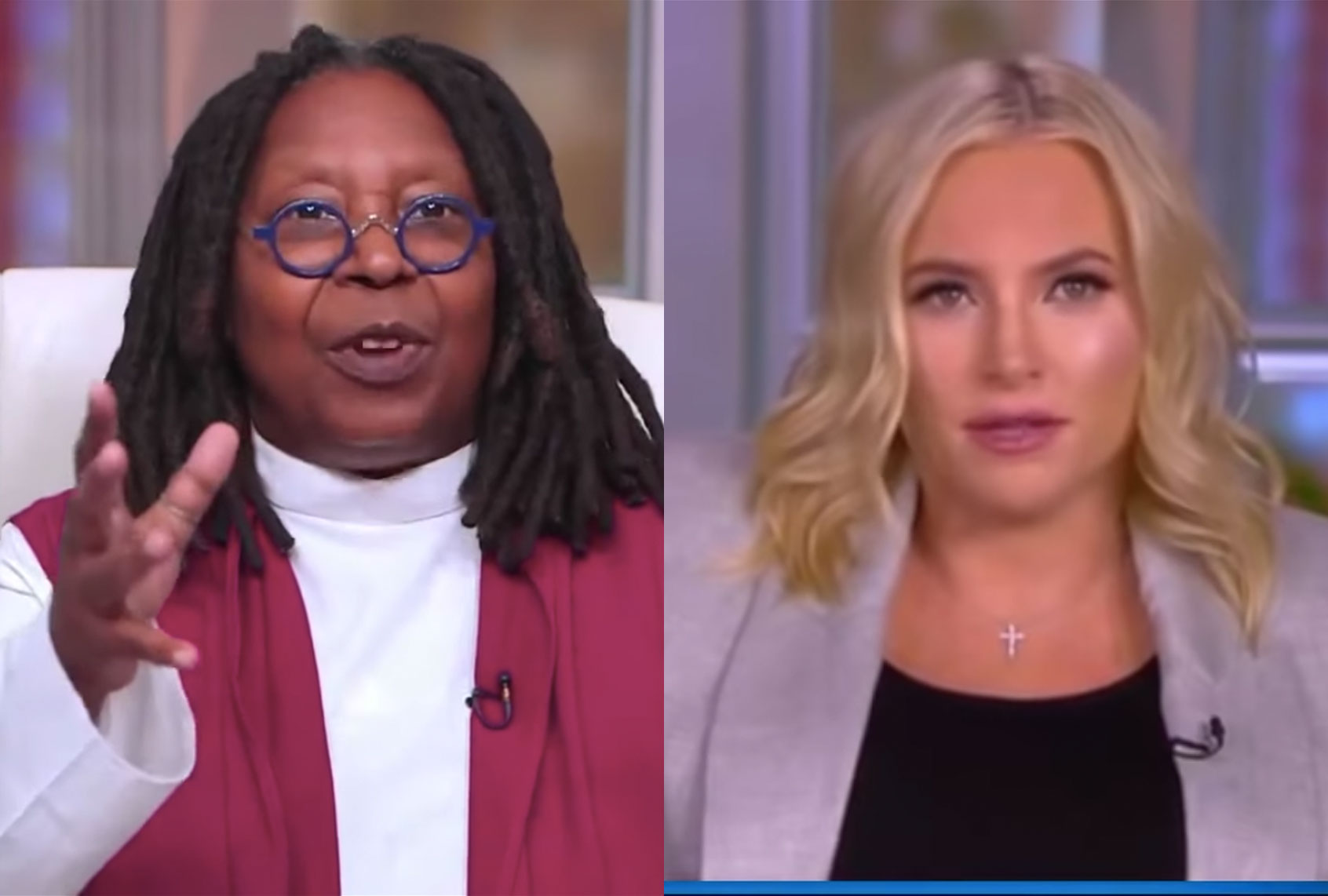"""Republicans brought this on themselves"": Whoopi Goldberg shuts down Meghan McCain on GOP extremism"