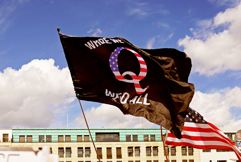 What are the true goals of QAnon? It's the 21st century's ultimate catfish scheme