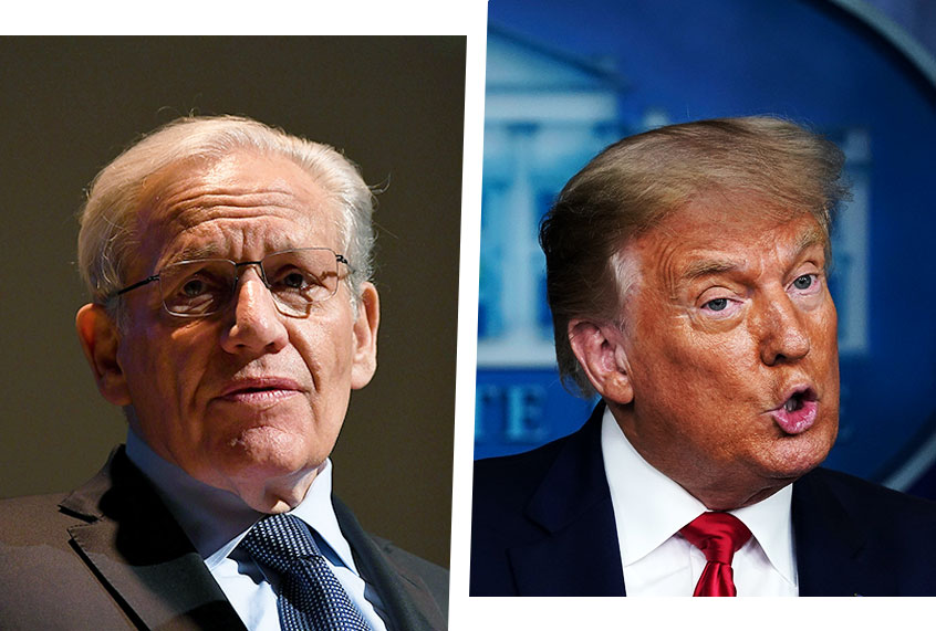 Donald Trump's fatal flaw: Of his many defects, Bob Woodward may have identified the worst thumbnail