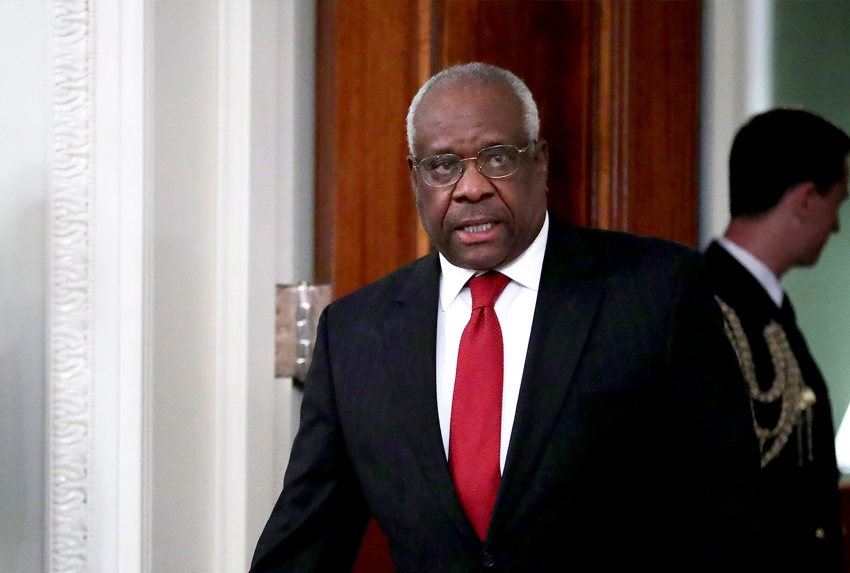 "Clarence Thomas' wife amplifies ""unsubstantiated claims of corruption by Joe Biden"": report"