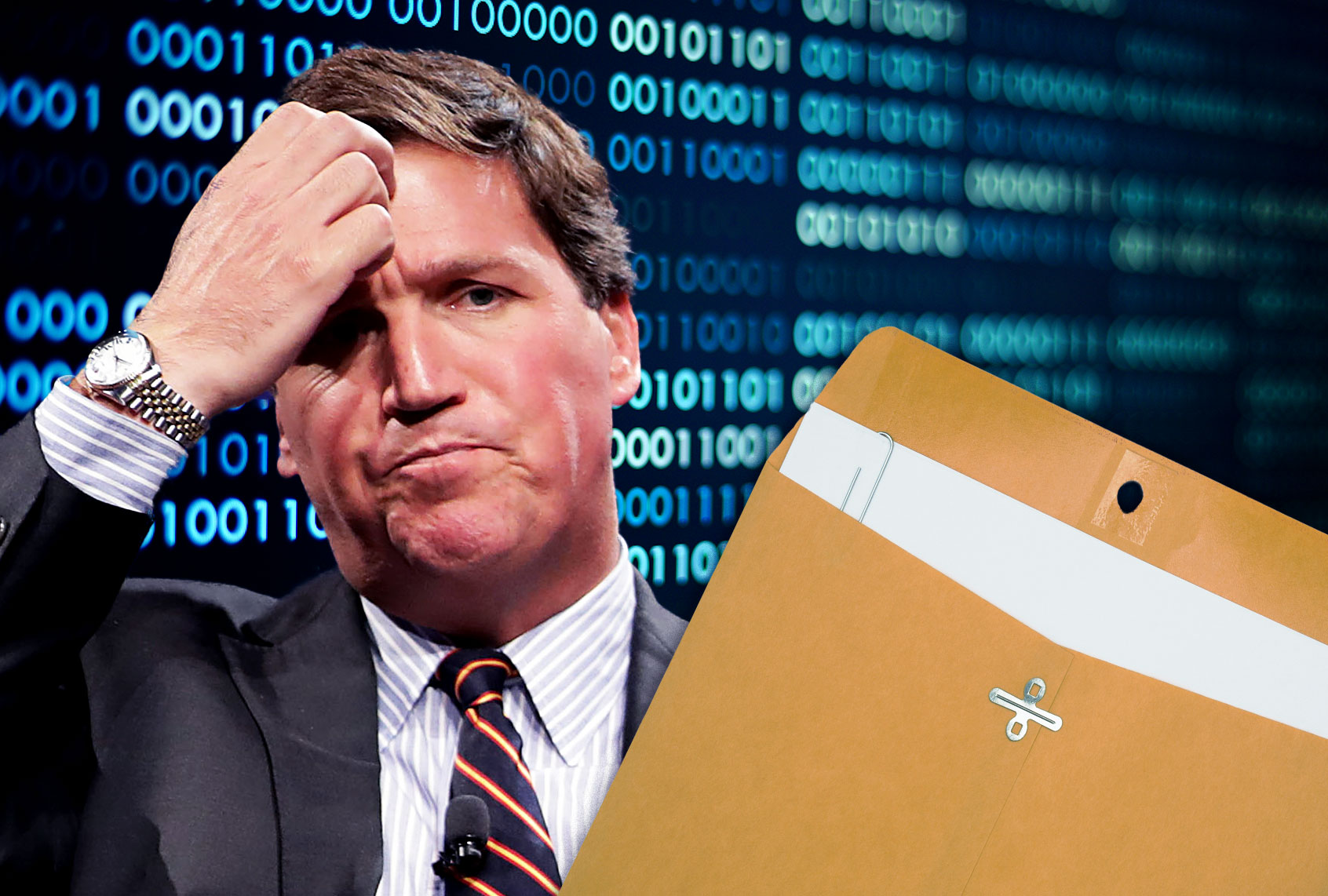 """""""Someone's reading our texts"""": Tucker Carlson, UPS and the non-stolen Biden documents"""