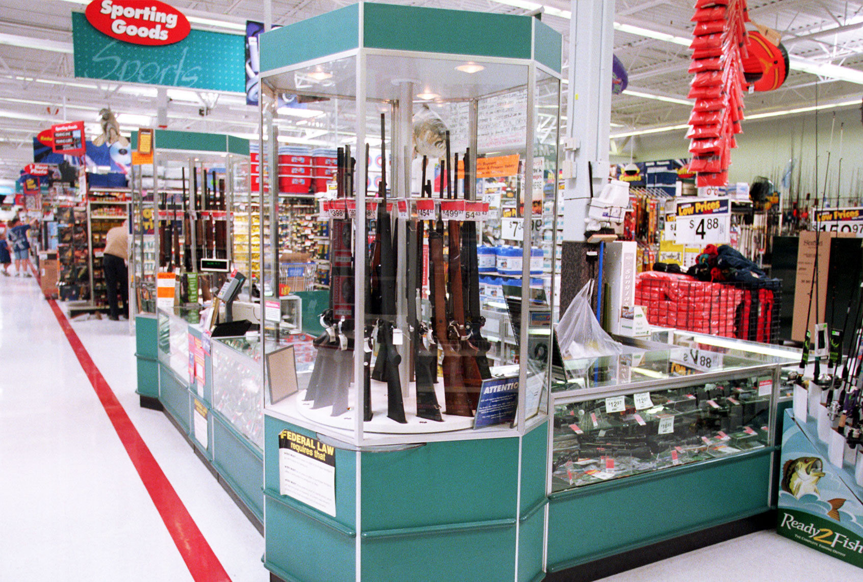 """Walmart removes guns and ammo from shelves over concerns about """"civil unrest"""""""