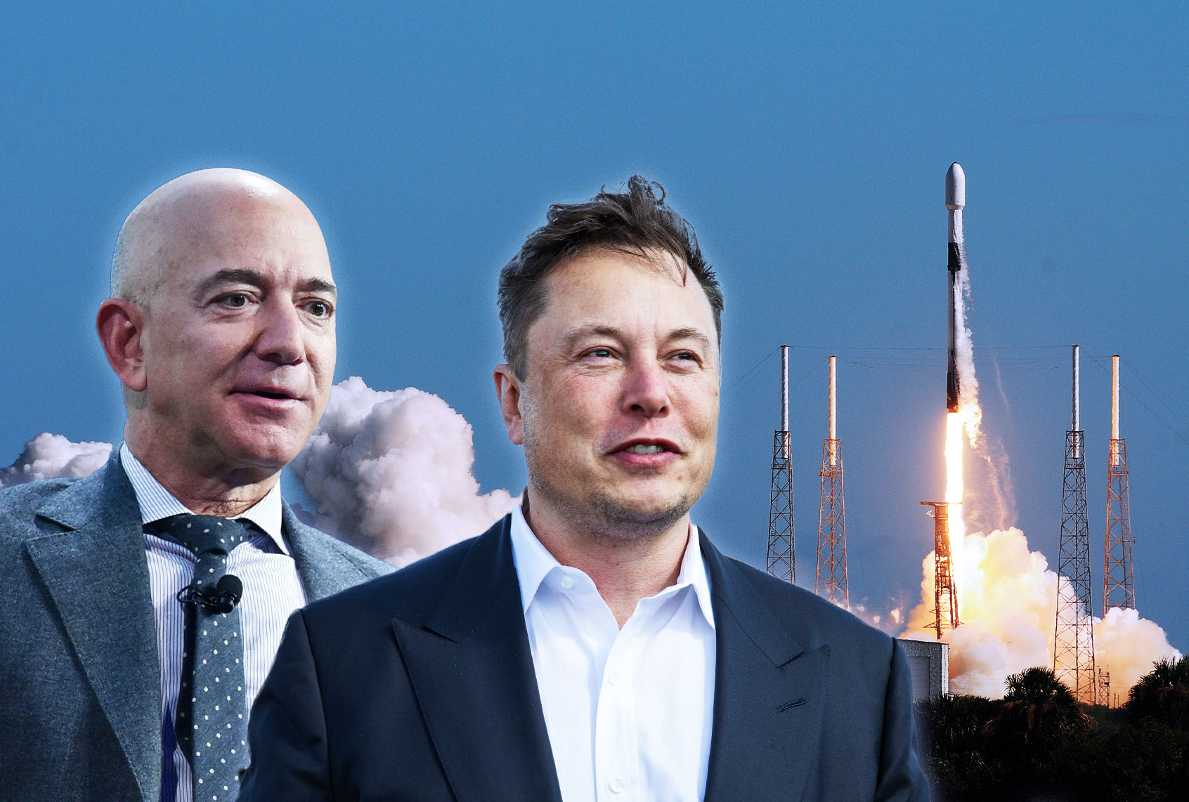 Elon Musk and Jeff Bezos: the great escape
