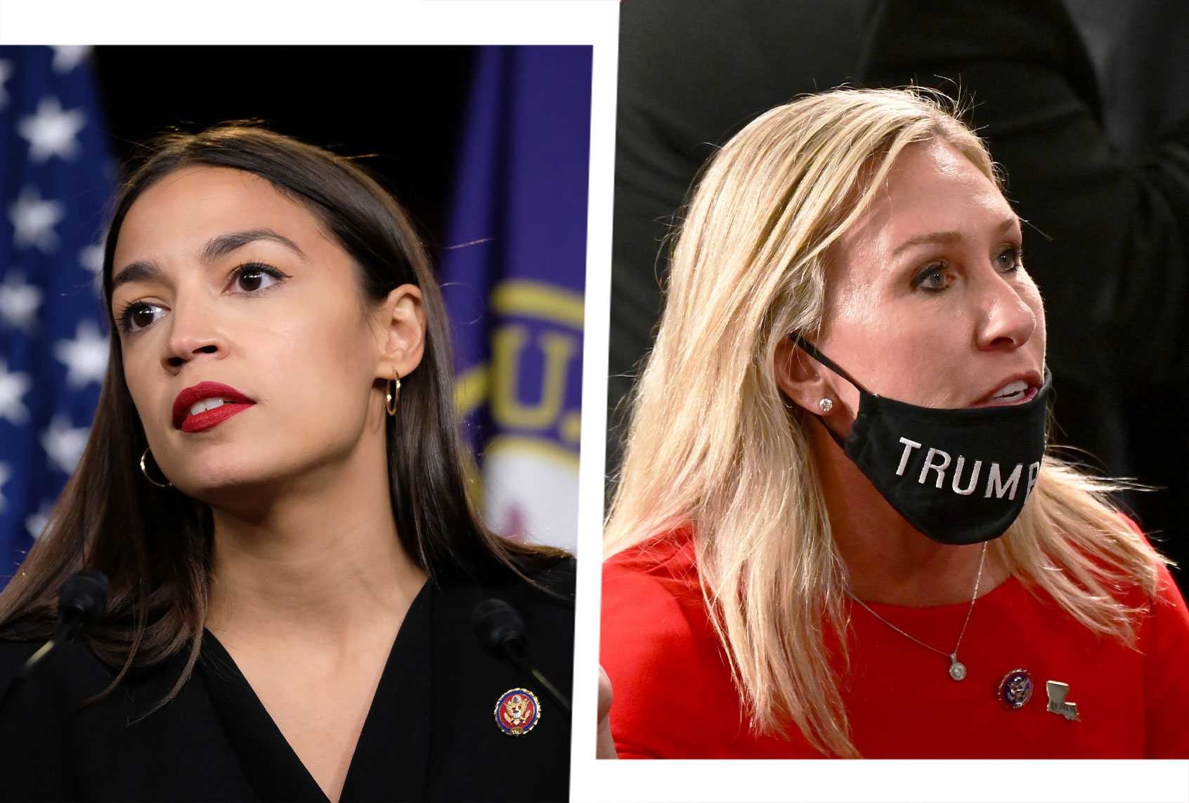 Republicans are using Alexandria Ocasio-Cortez to deflect from controversy over QAnon congresswoman