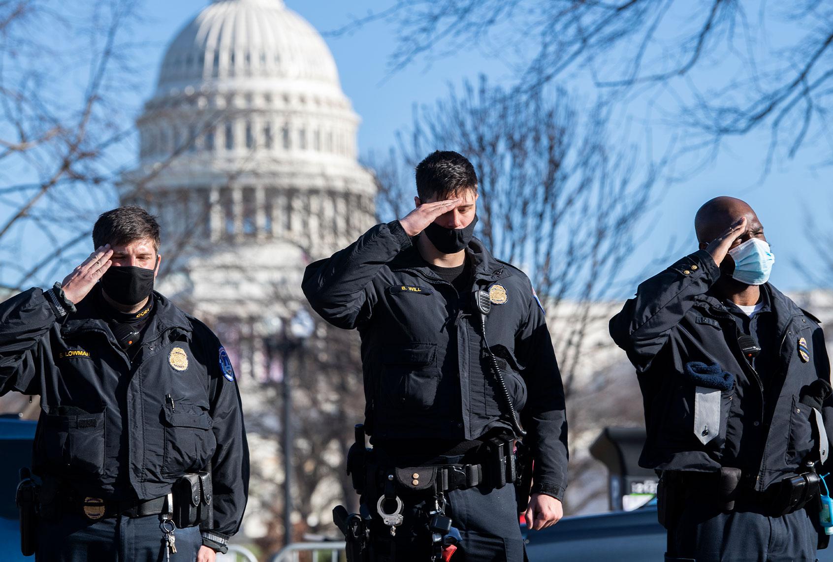 Officer Brian Sicknick was an Iraq vet who criticized Bush's war — and died  defending democracy | Salon.com