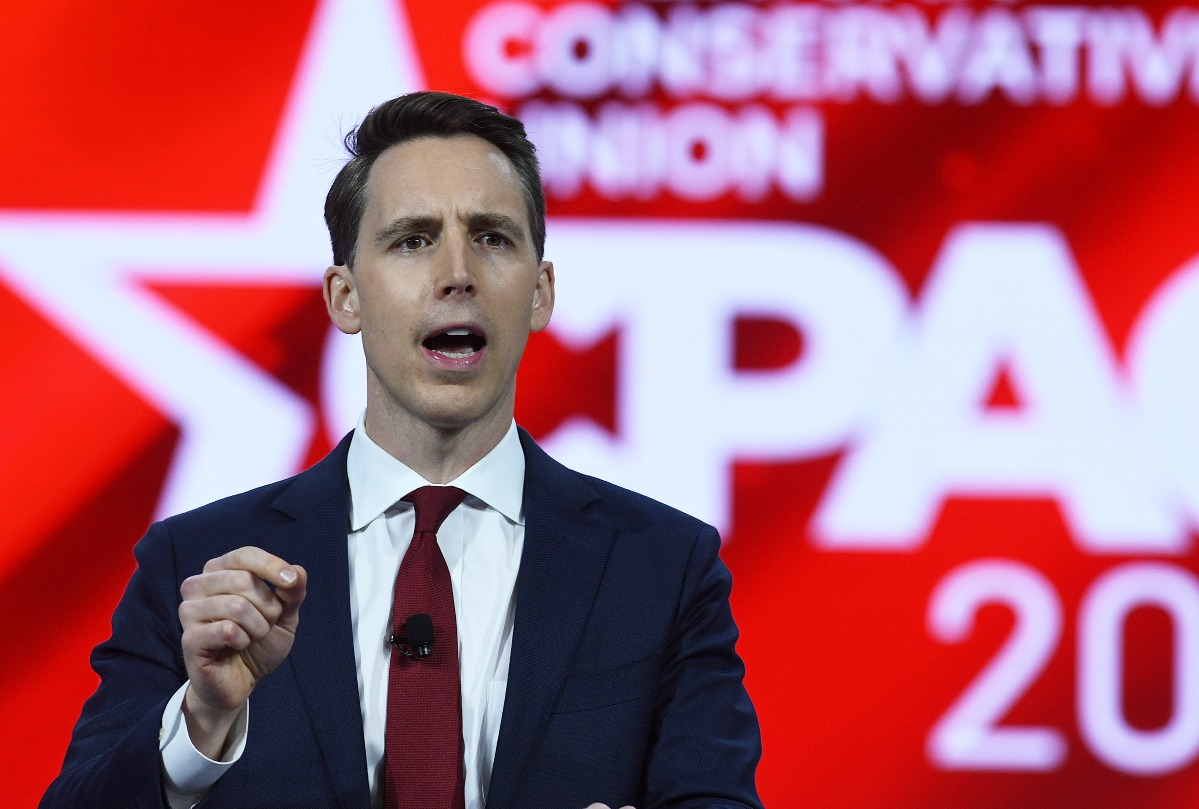 """Josh Hawley's hometown paper scorches his CPAC speech that called for a """"new nationalism"""""""