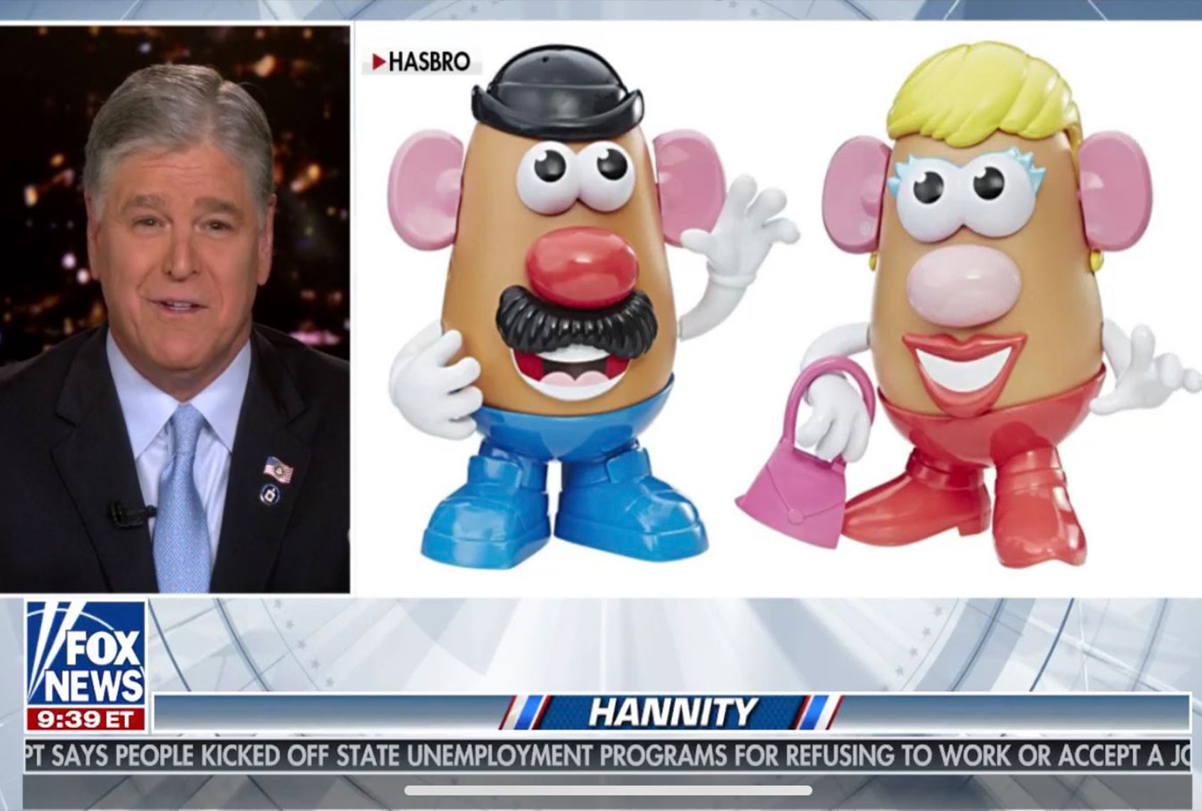 Why are conservatives losing their minds over the Mr. Potato Head rebrand? - Salon