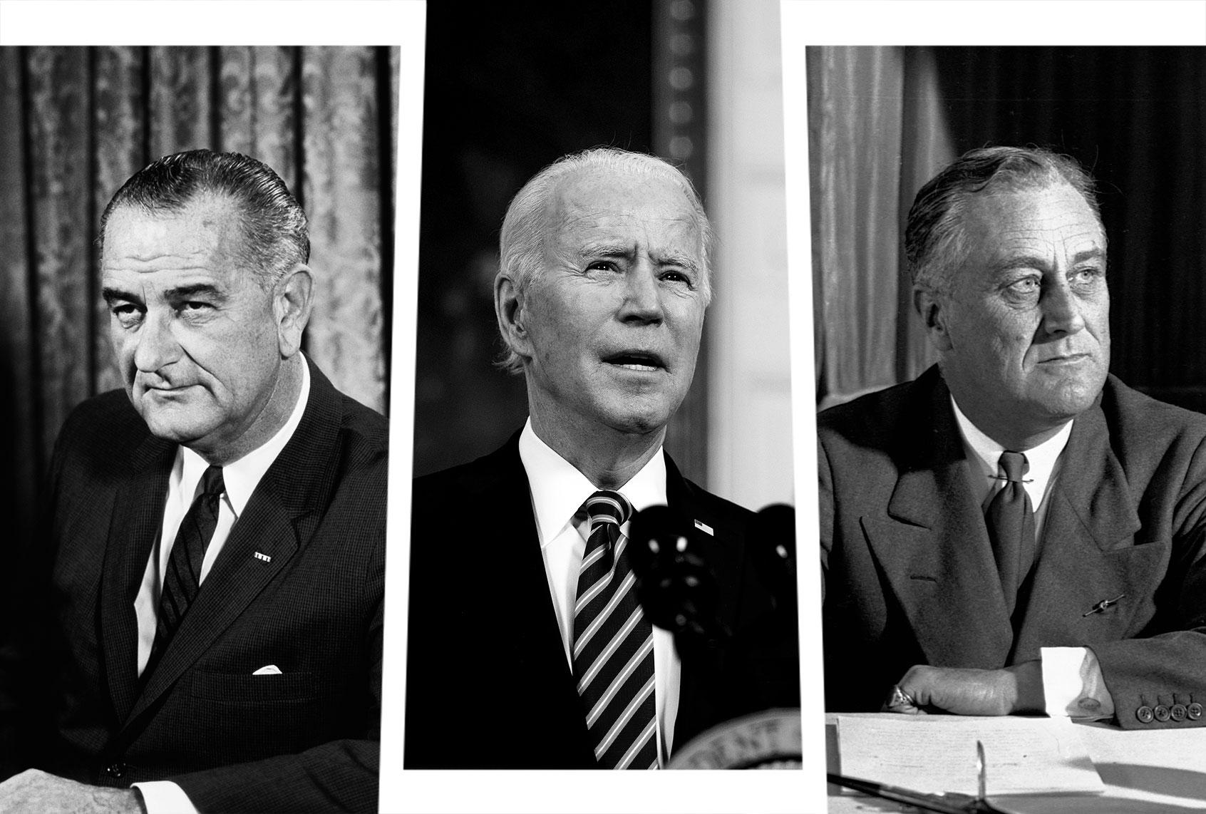 Joe Biden needs to emulate FDR and LBJ — but so far, he's not even close thumbnail