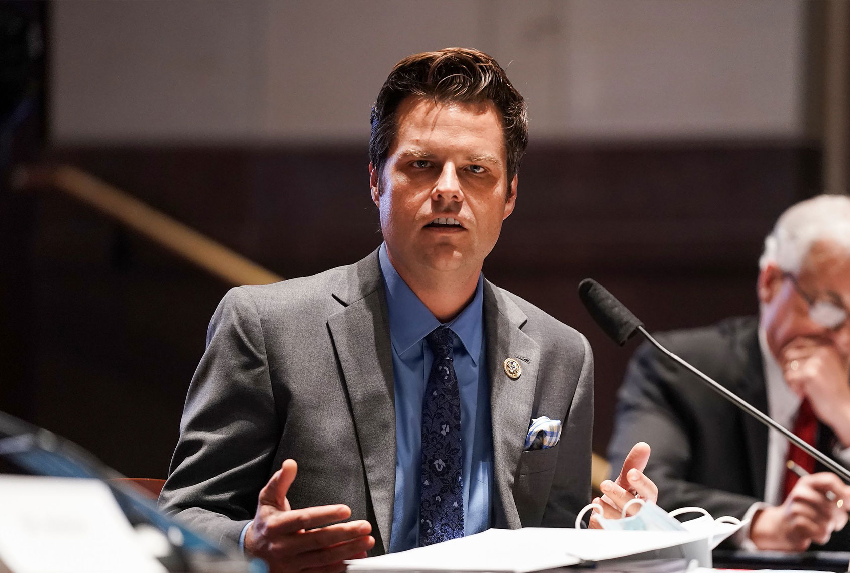 <p>House Ethics Committee opens probe into Matt Gaetz and Tom Reed over sexual misconduct allegations thumbnail