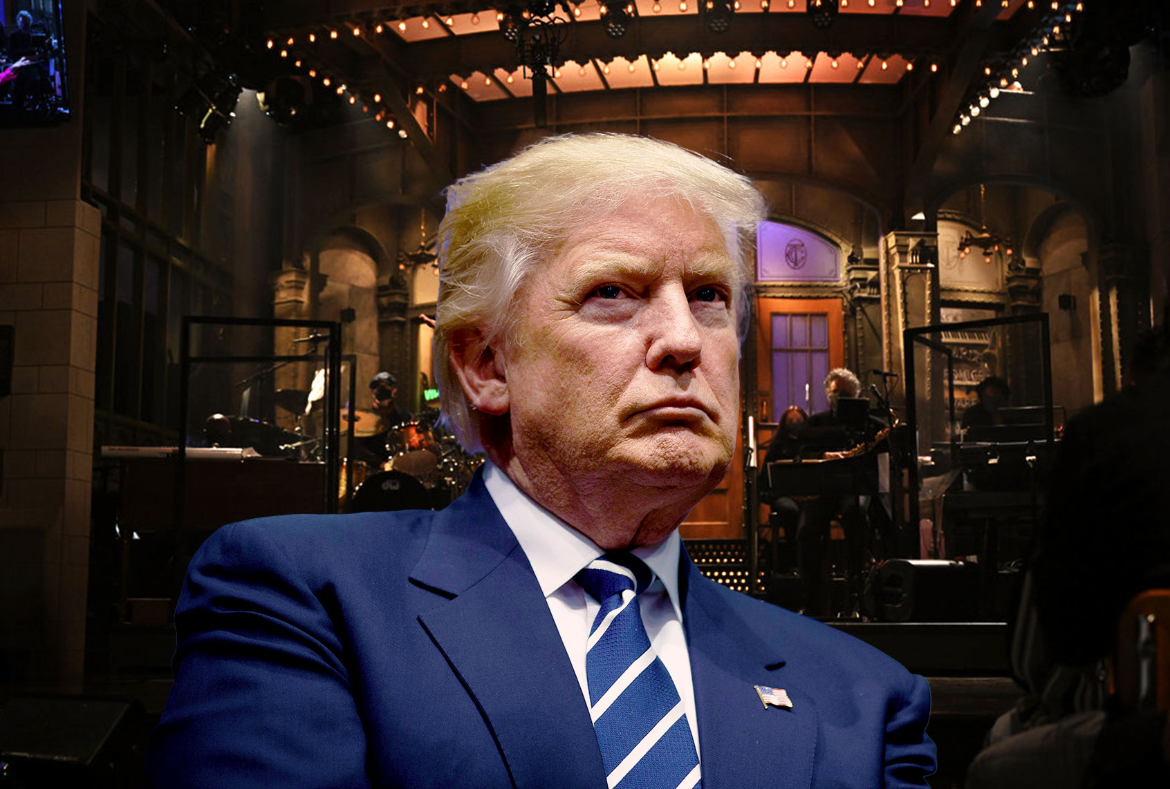 """Trump tried to get Justice Department to stop """"SNL"""" and """"Jimmy Kimmel Live"""" from mocking him: rpt thumbnail"""