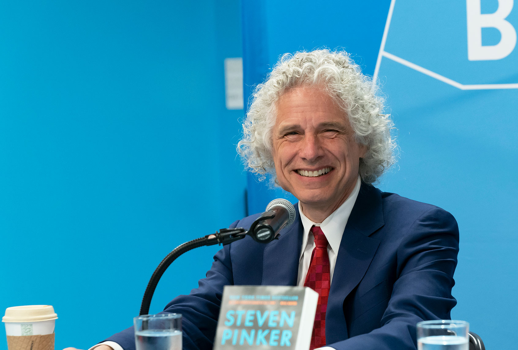 """Steven Pinker: """"I'm making an attempt to resolve how we might be so rational and irrational on the identical time"""" thumbnail"""